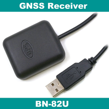 USB GLONASS GPS receiver Dual GNSS module antenna,4M FLASH,better than BU-353S4 navigation Signal Receiver