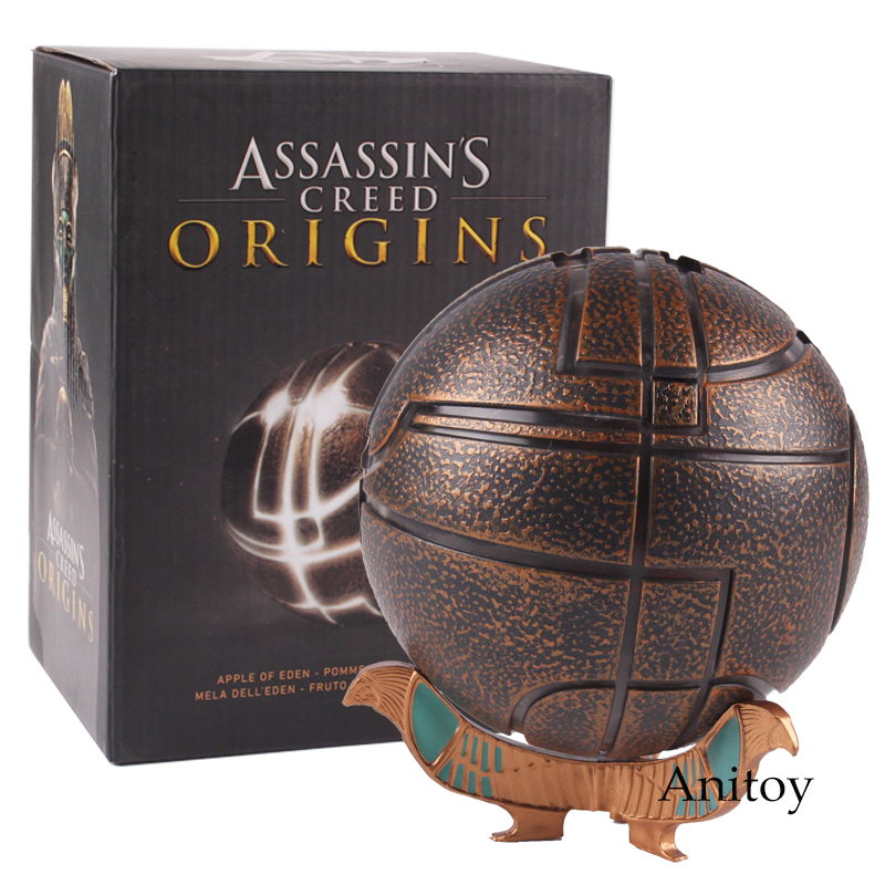 Anime Assassins Creed Assassin's Creed Origines Apple de Eden PVC Action Figure Collection Toy Gift 9cm