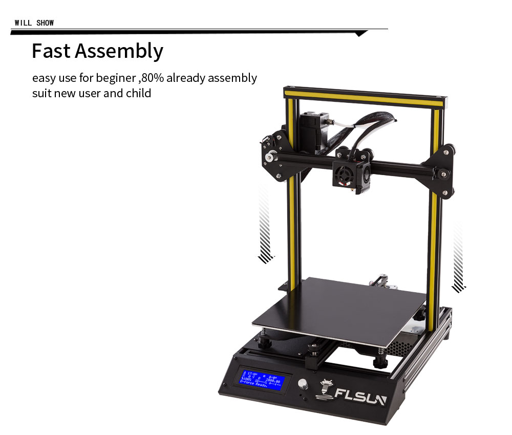 FLSUN F4 3D Printer Kit