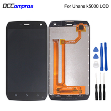 цены на Original For Uhans K5000 LCD Display Touch Screen Digitizer Assembly For Uhans K5000 Screen LCD Display Free Tools Phone Parts  в интернет-магазинах