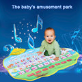 Russian Alphabet Play Mat Music Animal Sounds Educational Learning Baby Toys Play Mat Carpet Gift for Children Kids 73 * 49CM