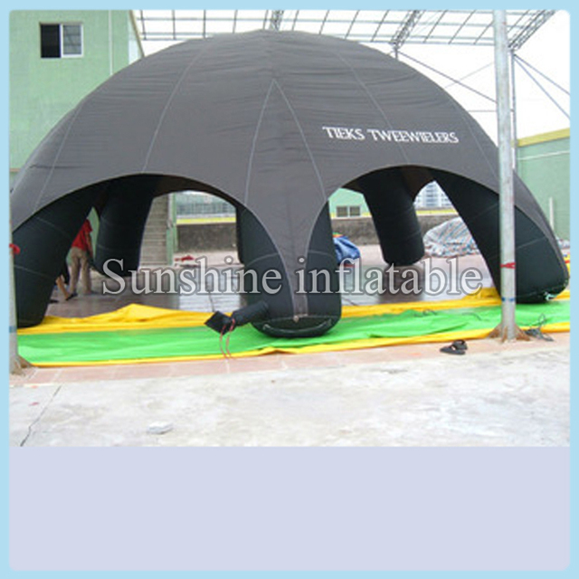 Custom 8m black giant outdoor inflatable event dome tent large marquee for exhibition & Custom 8m black giant outdoor inflatable event dome tent large ...