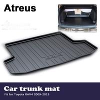 Atreus Car Accessories Waterproof Anti slip Trunk Mat Tray Floor Carpet Pad For Toyota RAV4 2009 2010 2011 2012 2013