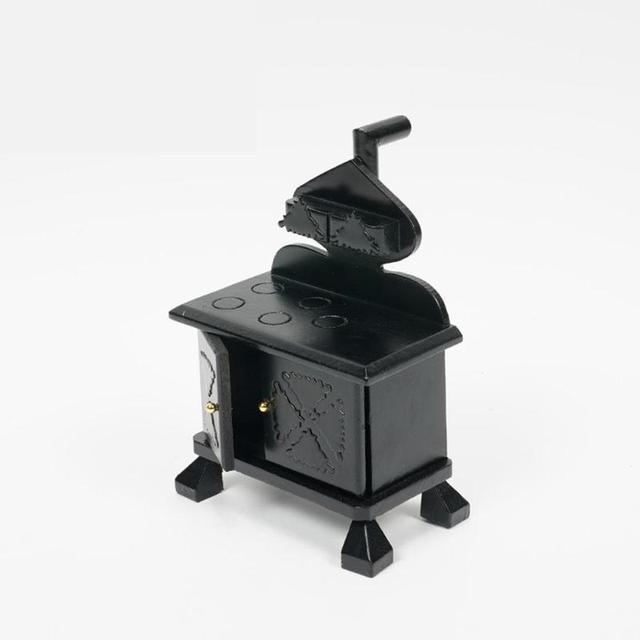 Doll House Miniature 1:12 Retro Kitchen Stove