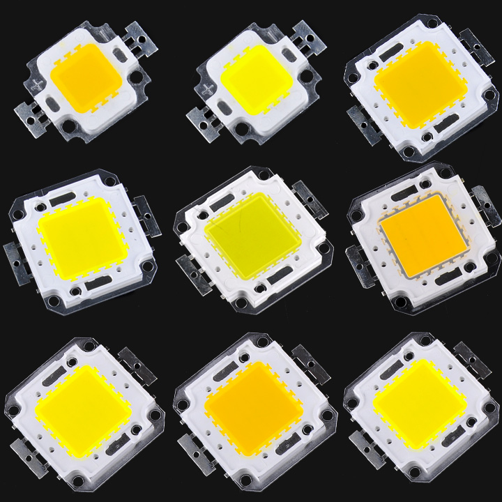 Cheap 10W 20W 30W 50W 100W High Power Integrated LED lamp Beads Chips SMD Bulb For Floodlight Spot light Warm white/White
