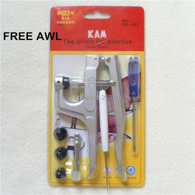 US $136 5 |DHL 10pcs Kam Plastic Snaps Fasteners Buttons Pliers Full Set  DIY Snaps Tool Kit DK001 for T3 T5 T8 Snaps-in Pacifier from Mother & Kids  on