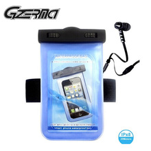 2015 New Products Waterproof Big Drawstring Bag for Phone Up To 5 Inch Device