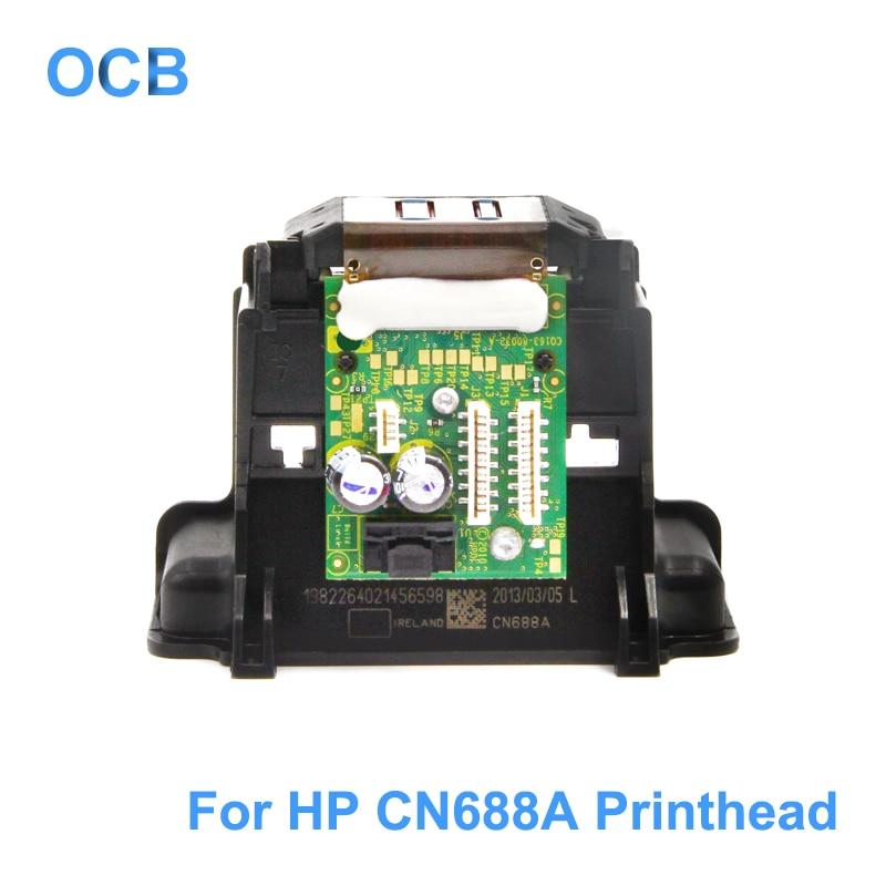 New CN688300 CN688A CN688 Printhead Print Head For HP Deskjet 3070 3070A 3525 5510 5520 4610 4620 4615 4625 5525 Printer Head never use 100% new cn688a print head printhead for hp 3070a 6520 5520 5522 5525 5524 4610 4620 4615 3525 3520 b211a printer head