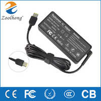 Zoolhong 20V 4.5A AC Adapter Charger For Thinkpad X1 Carbon ,T540p Power Supply Cord Square Connector