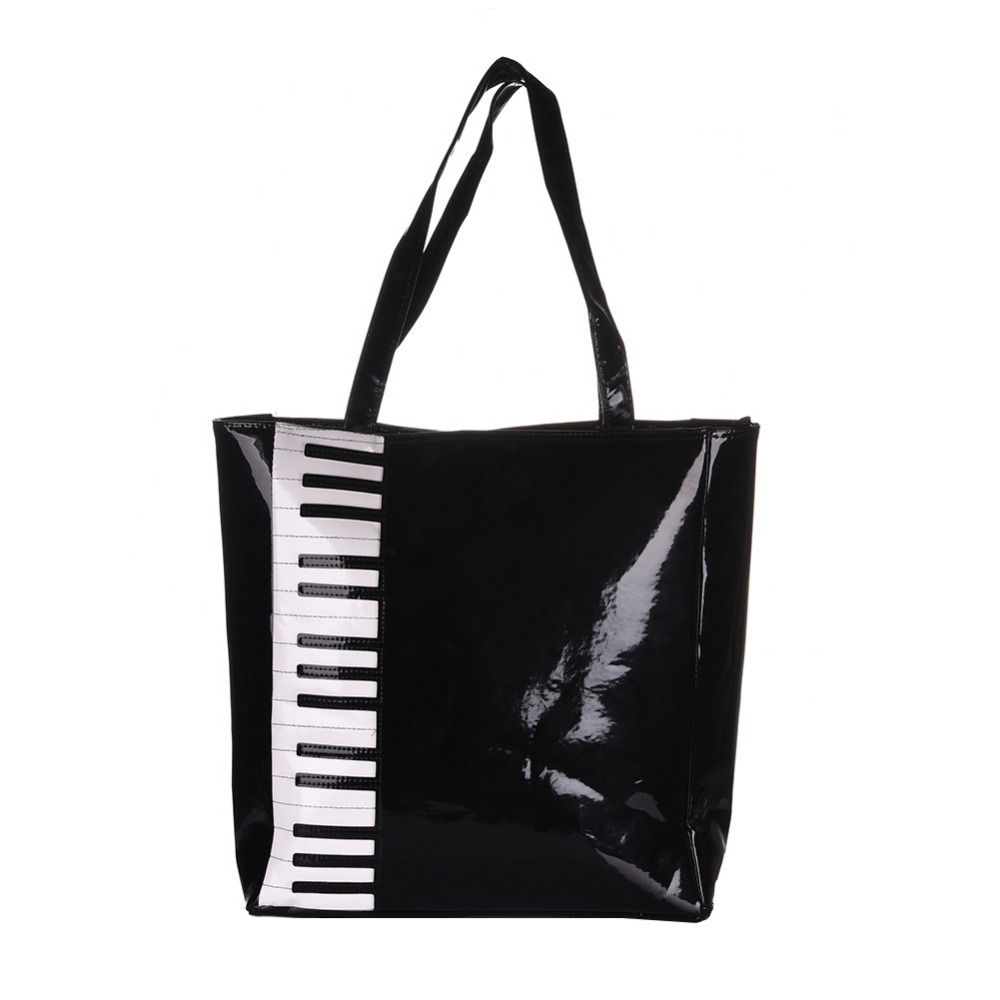 Piano Handbag Musical Bag Shoulder Bag Useful Carry Music Score Style Music Bag Black Design Professional Support Wholesale акустика центрального канала paradigm prestige 55c piano black