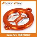 CNC Billet Orange Oil Filter Cover Cap For KTM SX-F XC-F EXC 450 500 DUKE RC 125 200 390 DUKE 690 ENDURO SMC SM SMR 1190 RC8