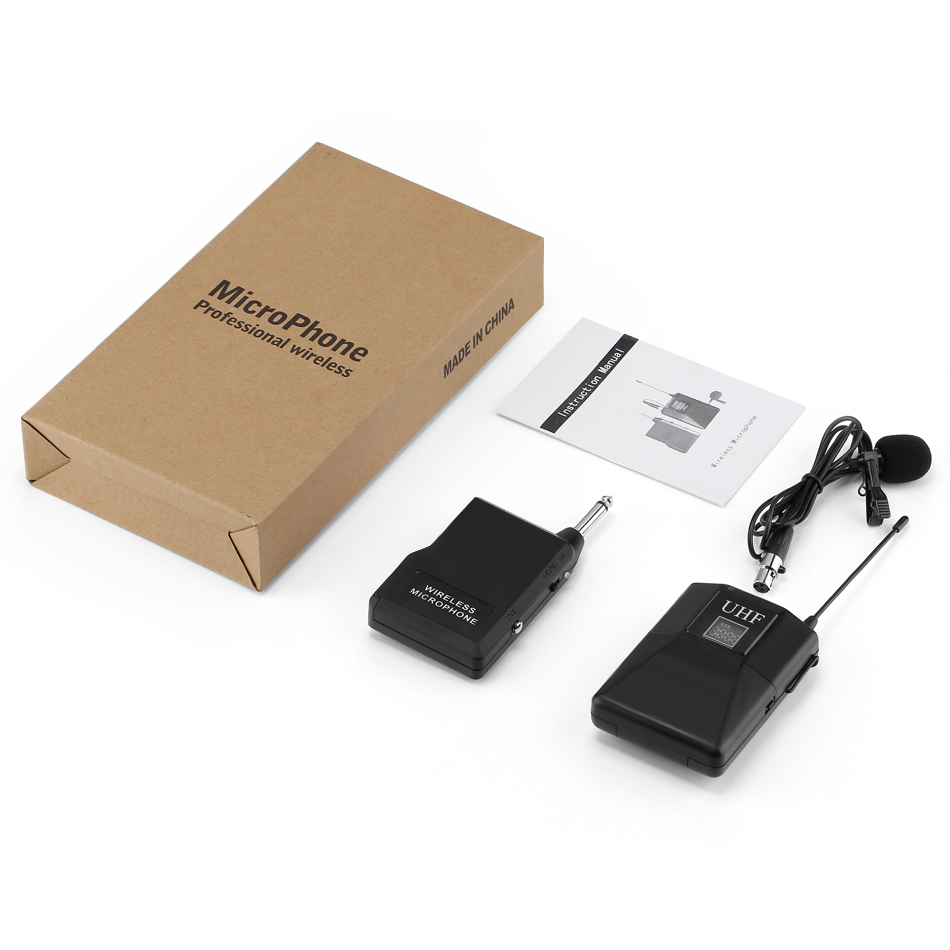 Microphone-Professional-UHF-Wireless-Microphone-System-Lavalier-Lapel-Mic-Receiver-Transmitter-for-Camcorder-Recorder-Microphone (4)