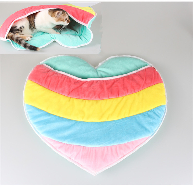 HERMOSO Pet Products Warm Soft Cat House Pet Sleeping Bag Lovely Dog Kennel Cat Bed Cat Sleeping Bag 012