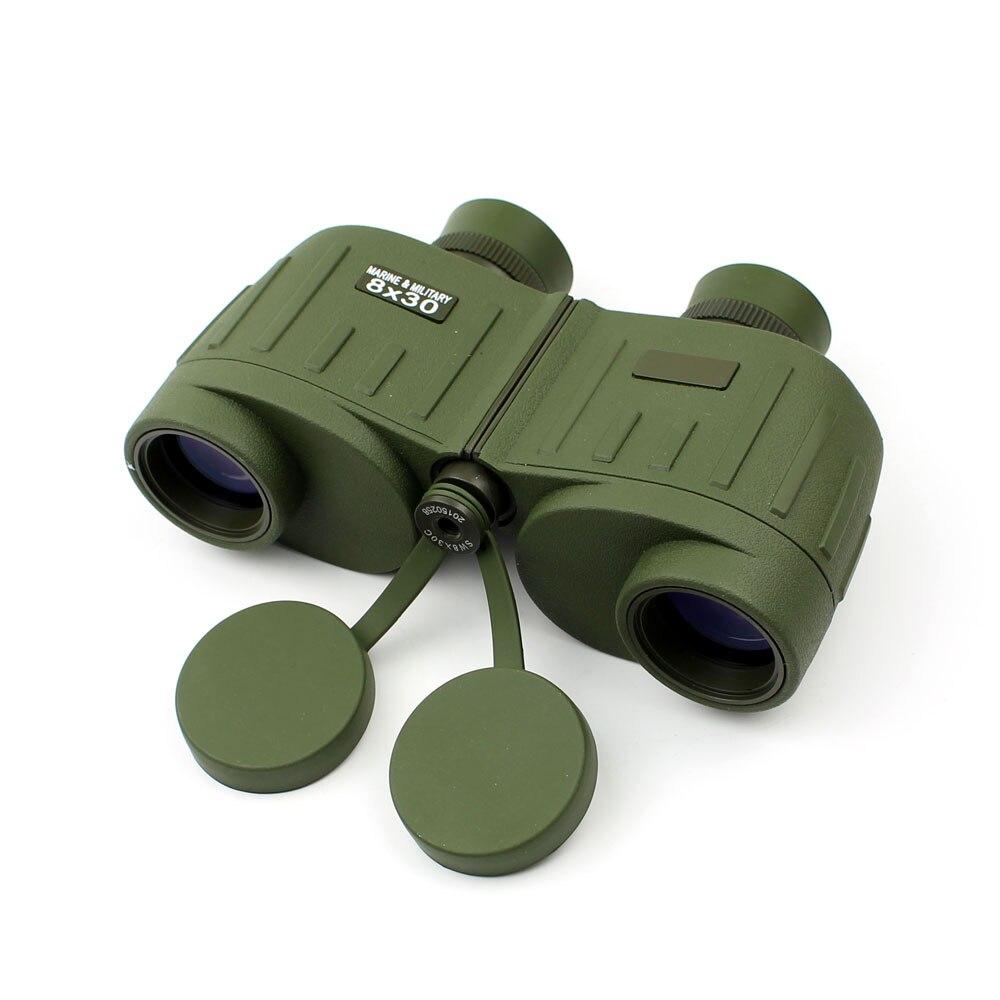 Military Green Tactical 8x Compact Size Waterproof Outdoor Binoculars Telescope