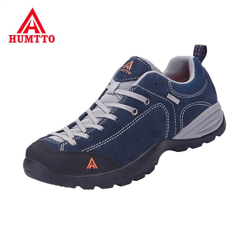 Nouvelles chaussures de randonnée en plein air femme camping baskets hommes chasse hiver trekking outventure antidérapant escalade sport en caoutchouc à lacets