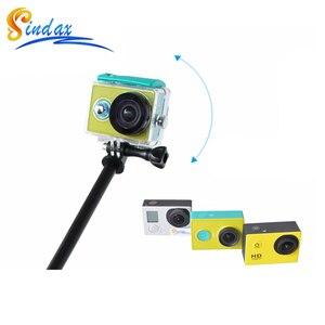 Image 4 - 防水一脚三脚拡張可能な一脚 Selfie スティック一脚用 xiaomi yi 4 18k II 2/SJ4000 移動プロ hero 8 5 6 7