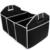 Assento de Carro para casa Lixeira AUTO Carga Trunk Organizer Dobrável de Armazenamento Preto Folding Caixas Zakka Sundries Para Organizador Caixa