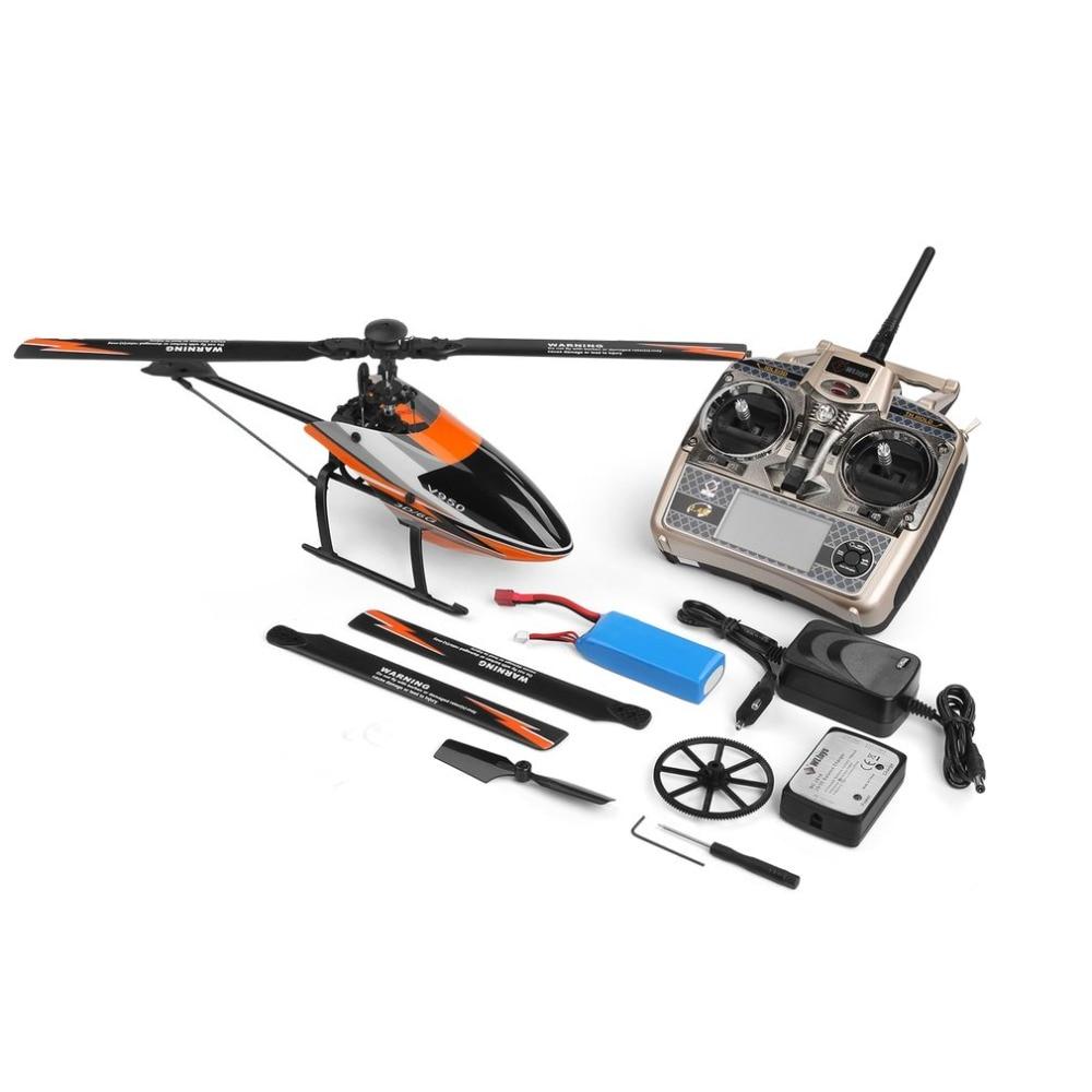 Para wltoys v950 venda quente 2.4g 6ch 3d/6g sistema comutado livremente brushless motor rtf helicóptero de controle remoto forte vento rc brinquedos