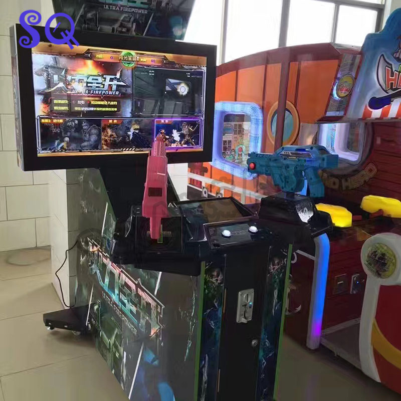 Arcade Kits for Shooting Game Ultra FirePower 3 in 1 Aliens Farcry HOD3 Arcade Gun Shooting Simulator Motherboard Game Console