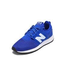 1de09153 New Balance/nb 247 Для мужчин обувь туфли в ретро-стиле Mrl247BW замшевые  кроссовки бадминтон Чистка Синий Бесплатная доставка