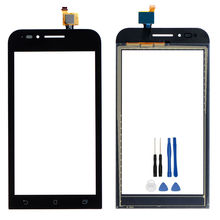For Asus ZenFone GO mini ZC451TG 4.5 inch New Digitizer Touch Screen Panel Sensor Lens Glass Replacement + Tools цена 2017