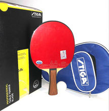 Stiga Allround Classic Master Table Tennis Bat professional offensive racquet sports ping pong finished rackets with bag(China)