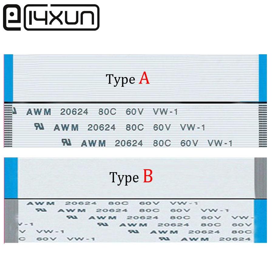 5pcs/lot FFC/FPC Flat Flex Extension Cable 10Pin 20Pin 30Pin 40Pin 50Pin 60Pin A/B 0.5mm Pitch AWM VW-1 20624 60V Length 100mm
