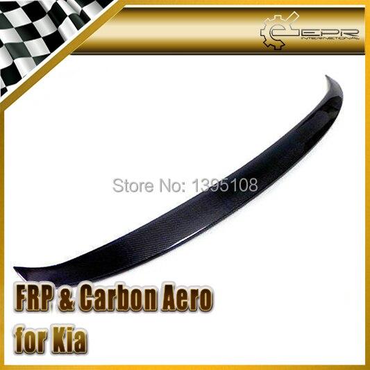 Style automobile pour Kia 2011 + K5 Style Optima becquet arrière en Fiber de carbone en Stock