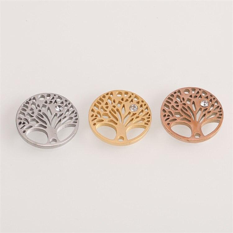 Модные аксессуары для изготовления ювелирных изделий из нержавеющей стали в форме сердца/короны/рождественской елки для изготовления браслетов и ожерелья