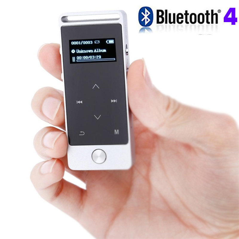 2018 Original Touch Screen MP3 Player 4GB BENJIE  Metal APE/FLAC/WAV High Sound Quality Entry-level Music Player With Bluetooth