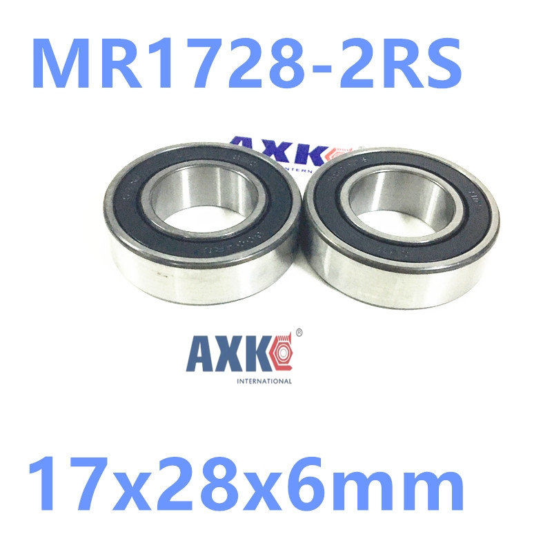 17286-2RS MAX , MR1728-2RS 17286 full complement ball bearing(Max type bearing) for bicycle suspension frame piont  17x28x6mm bicycle suspension pivot point bearing 6900 2rs max 10 22 6 mm full complement