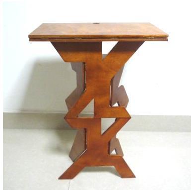 Nouveauté de haute qualité Table de magicien pliante (en bois), accessoires de magie, mentalisme, scène, gros plan, comédie, tour de magie
