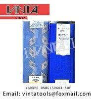 O envio gratuito de alta qualidade 10 unidades/lotes YB9320 DNMG150604 ADF cnc ferramentas de lâmina de corte de carboneto de pastilhas de torneamento|Ferr. torneam.| |  -