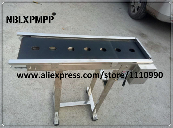 NBLXPMPP brands Lowest Factory Price Highest Quality customized egg belt conveyor for Automatic coding machine inkjet printer