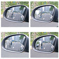 Newest Car Blind Spot Mirror 360 Degree Adjustable rectangle Convex Wide Angle Rear View Mirror Universal for Car SUV Truck