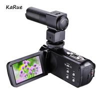 KaRue Digital Photo Camera with Mic and Remote HD Digital Video Camera   Camcorder   16x Digital Zoom DV 3.0