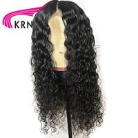 КРН 13X6 Синтетические волосы на кружеве парики с волосы младенца 8 24 дюймов Волосы remy глубокий часть фигурные предварительно сорвал бразильс