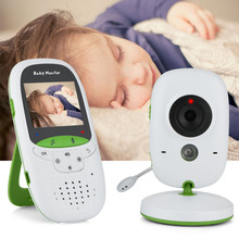 """Video Babyfoon Lange Bereik Verbeterde 850 Draadloze Bereik, Nachtzicht, temperatuur Monitoring en Draagbare 2 """"Kleurenscherm"""