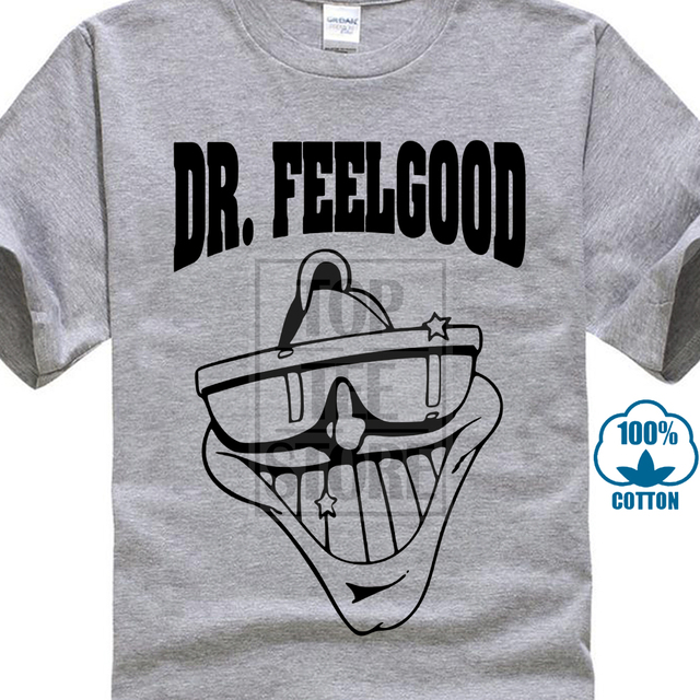 Dr. Feelgood camiseta-Pub roca Legenden-Alle   Verschiedene Farben 3D  imprimir hombres 8189a244f8087