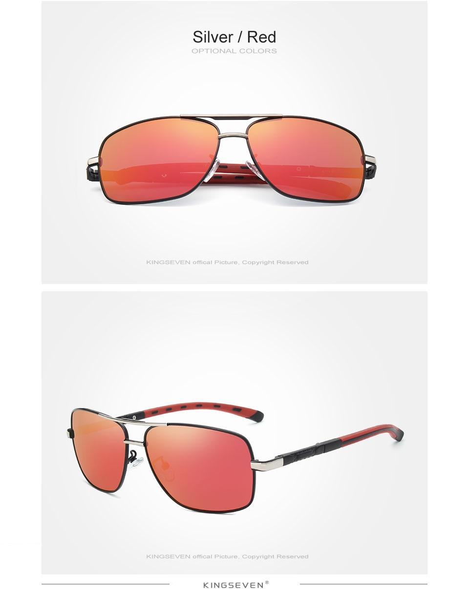 GIFTINGER 2020 Brand Men Aluminum Sunglasses HD Polarized UV400 Mirror Male Sun Glasses Women For Men Oculos de sol N724