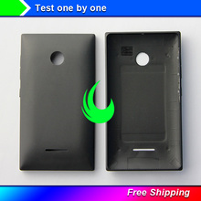 New Original Back cover For Microsoft Nokia lumia 435 N435 Back Battery Rear Door Housing Case With Side Button Free Track free shipping d810 new rear back cover plate with button lcd part replacement suitable for nikon