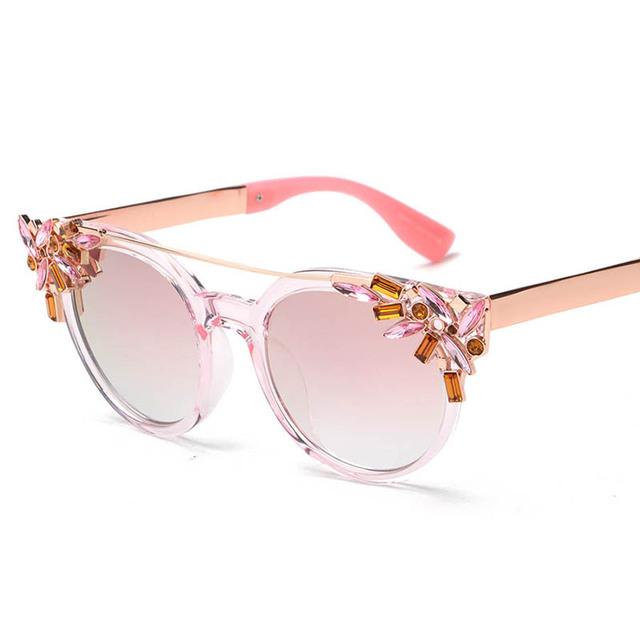 Okulary Przeciwsłoneczne kryształowe