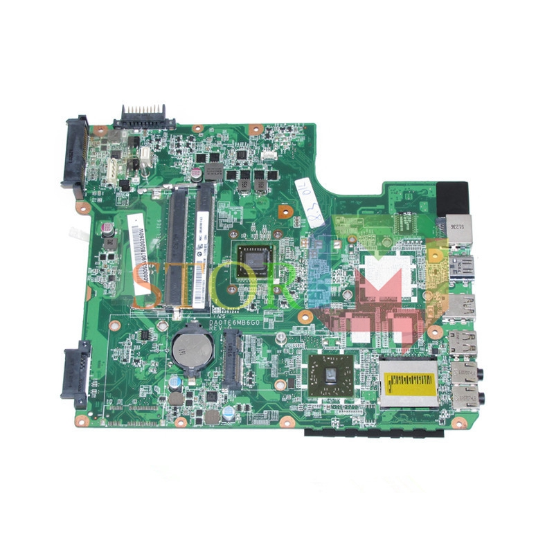 NOKOTION for toshiba satellite L745D laptop motherboard A000093490 DA0TE6MB6G0 REV G DDR3 k000055760 laptop motherboard for toshiba satellite a200 a205 iskaa la 3481p rev 2a intel gl960 ddr2 without graphcis slot