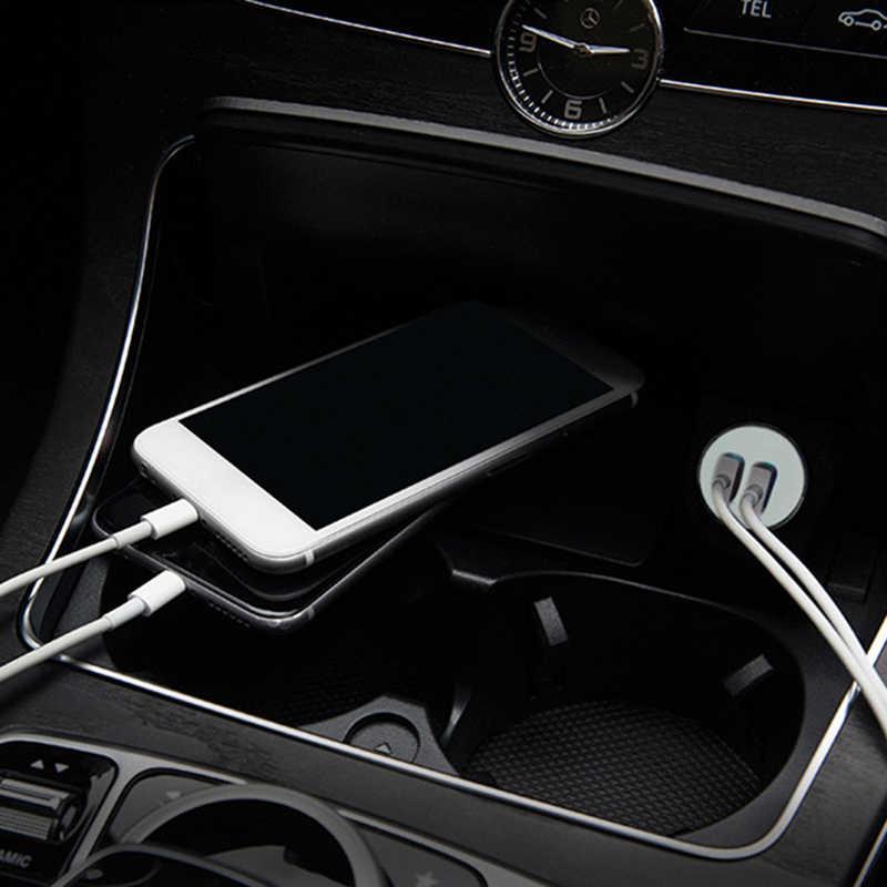 العالمي 5 فولت 2.1A شاحن سيارة 4 USB الهاتف سيارة-شاحن سامسونج آيفون X XS هواوي شاومي الذكية شاحن الجهاز اللوحي
