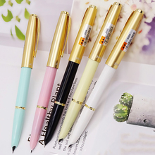 Vintage Nostalgic Wing Sung 3006 Wingsung Fountain Pen Colorful Ink Pen with Arrow Clip Extra Fine 0.38mm Office Home Gift Pen стоимость