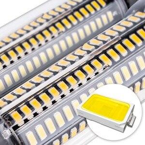 Image 4 - E27 LED Bulb E14 Corn Lamp 110V LED Lamp 220V Lampada LED 85 265V 28 40 72 108 132 156 189leds Energy Saving Light Bulb 5736 SMD