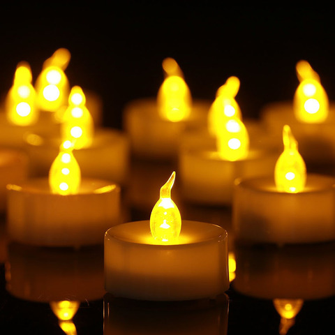 24 pcs flameless led cha luz velas