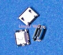 Micro USB pinów gniazdo