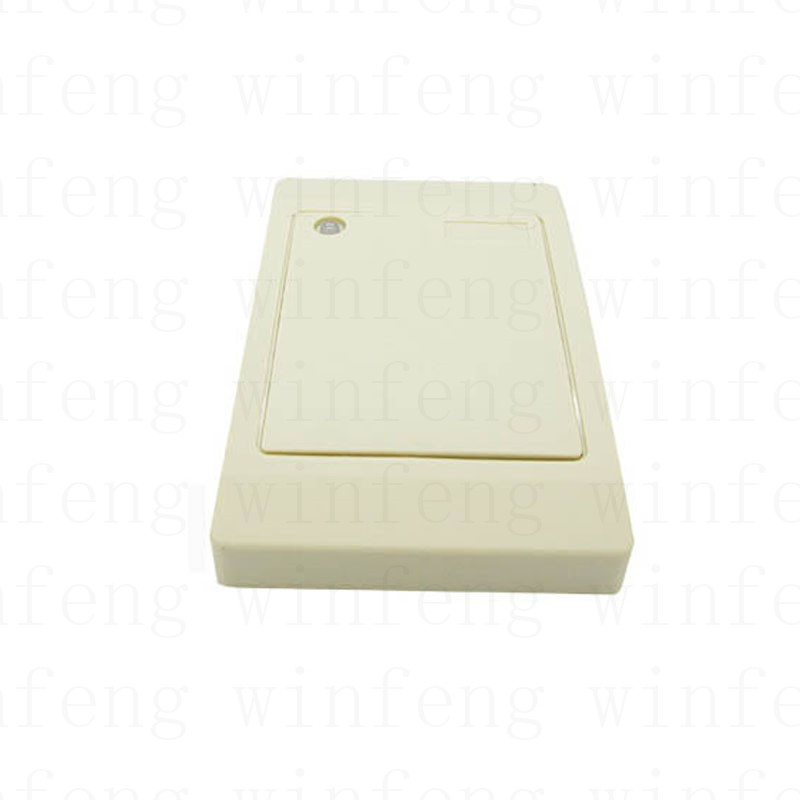Contactless Waterproof 125Khz RFID Reader WG26 RFID EM ID Card Reader+4PCS EM Blank Smart PVC Card for Access Control System waterproof hot selling for rfid card reader access control system identification card reader with wg26 34 f1683