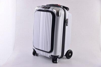 """CARRYLOVE 21 """"100% PC personalidad cool scooter maleta llevar en la rueda giratoria multifunción equipaje de viaje-in Equipaje de ruedas from Maletas y bolsas    2"""